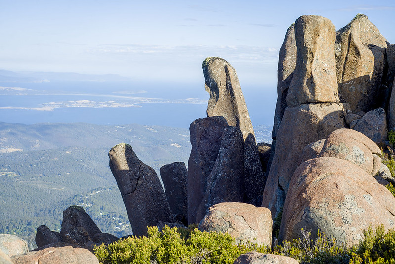 Mount Wellington rocks