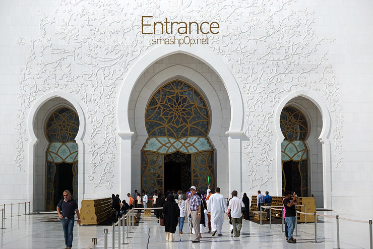 Doing The S Curve At The Biggest Mosque In Uae Smashpop
