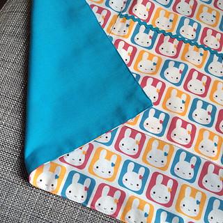 Bunny Squares Apron