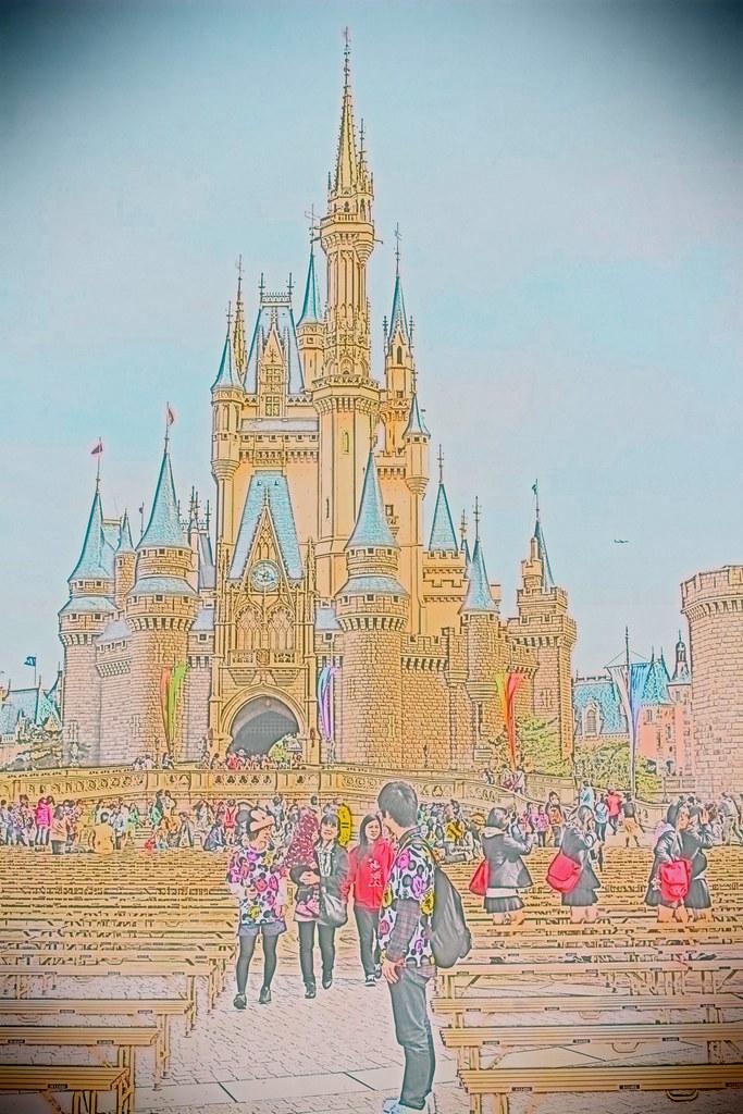 Disneyland_Cinderella Castle