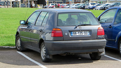 automobile, automotive exterior, volkswagen, vehicle, volkswagen golf mk3, city car, compact car, bumper, land vehicle, vehicle registration plate, hatchback, volkswagen golf,