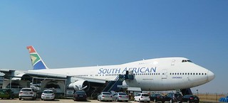 South African Airways Museum B747-244 ZS SAN.