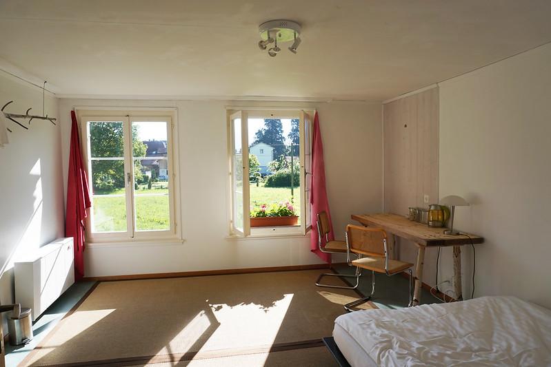 Room in a farmhouse