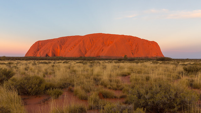 Uluru by Sunset