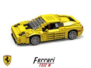 Ferrari F512 M Berlinetta