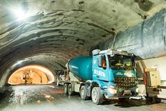 Gemeinderat Oberau im Tunnel