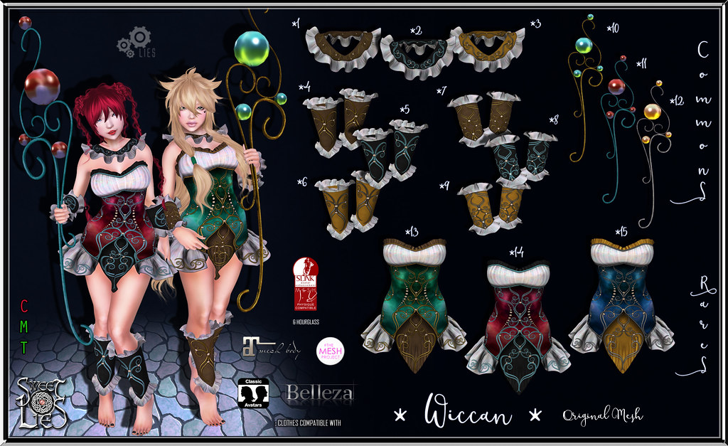 Wiccan Outfit Gacha - Sweet Lies Original - SecondLifeHub.com