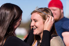 Homecoming Queen Allie Harvey