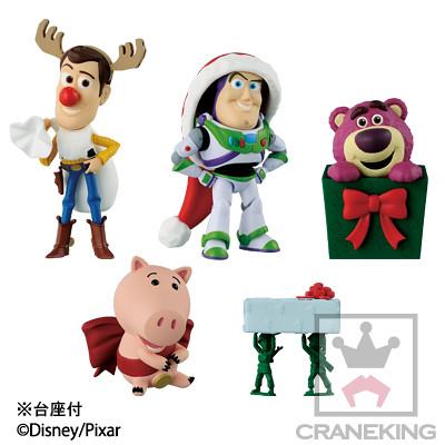 WCF系列《玩具總動員》「CHRISTMAS TOYS篇」陪您歡樂渡過聖誕節!