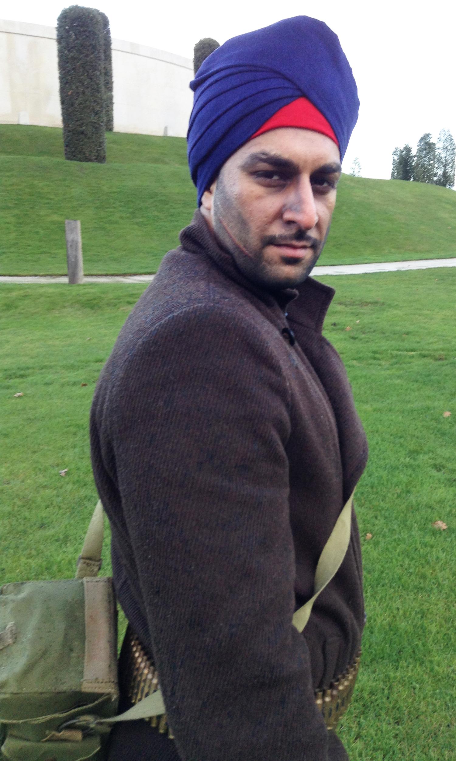 WW2 Sikh Soldier - 2
