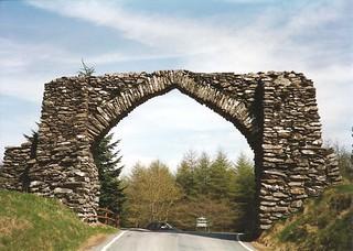 The Arch, Pontarfynach (Devil's Bridge)