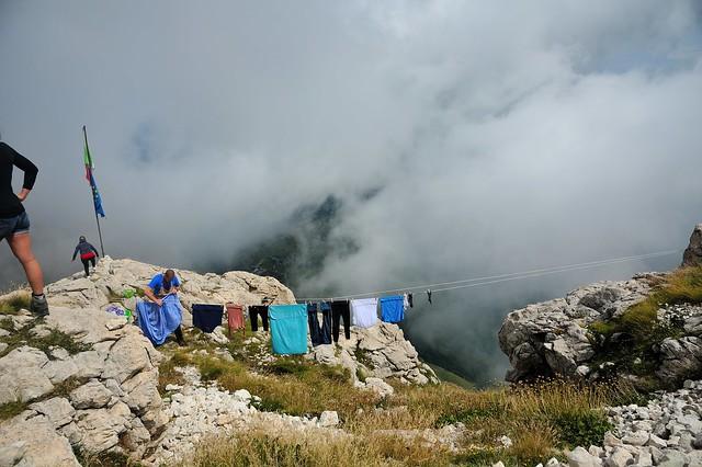 gran sasso italy refuge Franchetti 2500 m