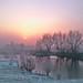 A frosty sunrise by Nils van Rooijen