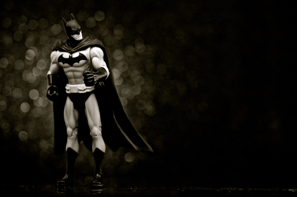 Infinite Batman (Black And White)