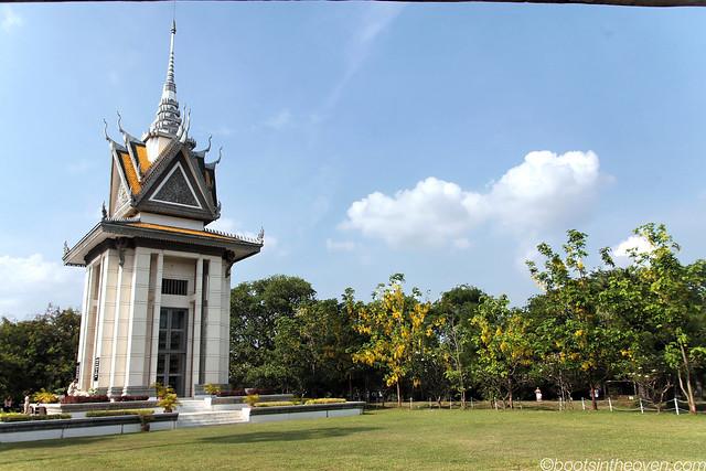 Memorial Stupa, Choeung Ek Killing Fields