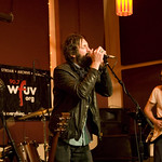Kicking off a month as the WFUV House Band, Everest performs at The Living Room in New York City. Hosted by Rita Houston. Photo by Laura Fedele