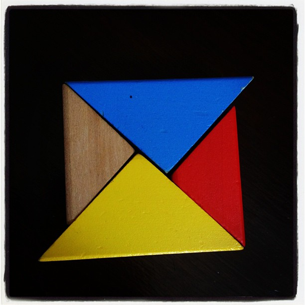Triangles #blocks #toys #primarycolors