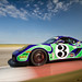 "Porsche Cayman Interseries #3 ""Hippy"" Car"