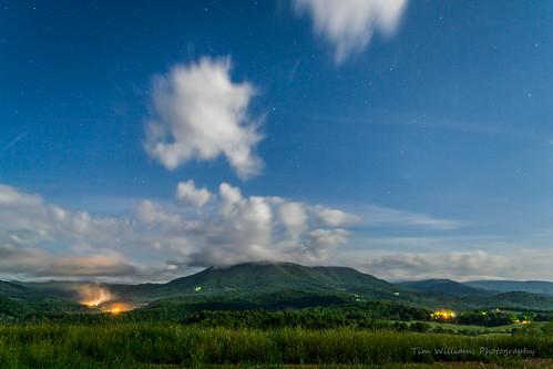 mountain virginia nikon unitedstates moonlit pearisburg