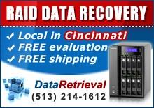 RAID Data Recovery Cincinnati