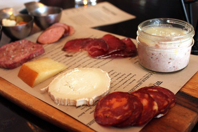 Wood & Vine -Charcuterie and Cheese
