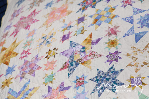 Oh My Stars finished quilt