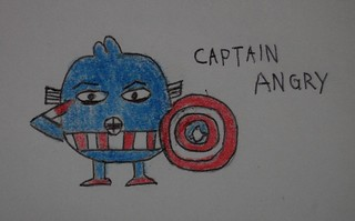 captain angry