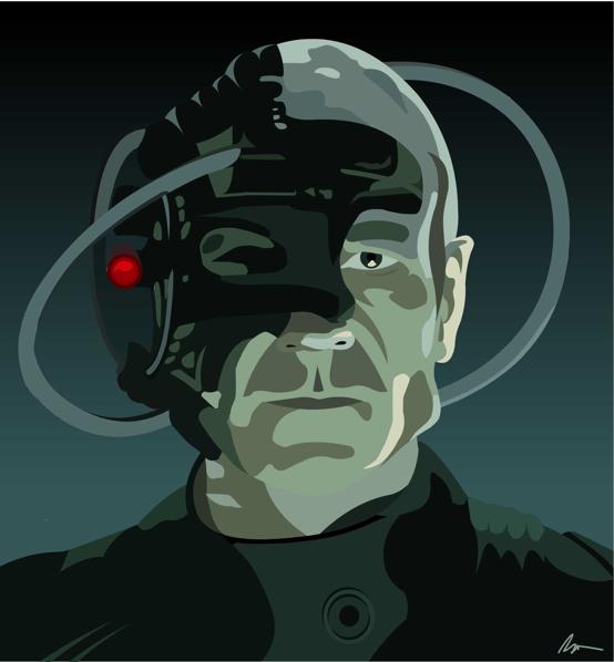 Portrait Series Locutus of Borg