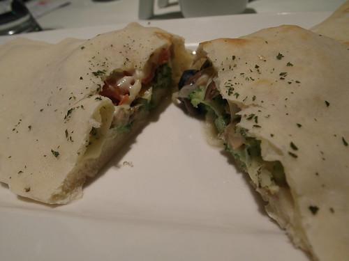 卡洛佐尼枕頭披薩