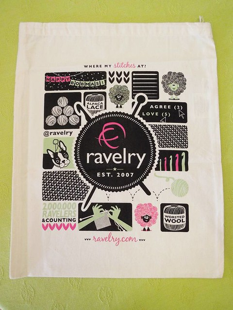 New Ravelry Project Bag