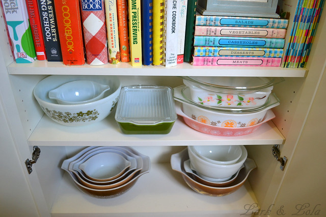 Pyrex Cupboard