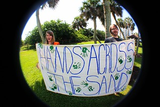 Hands Across The Sand- Vero Beach, FL 2013