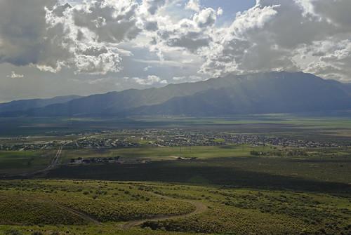 panorama clouds utah desert eaglemountain oquirrhmountains lakemountains