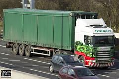 Scania R440 6x2 Tractor - PJ12 FJX - Annie May - Eddie Stobart - M1 J10 Luton - Steven Gray - IMG_3129