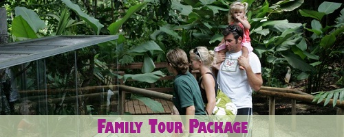 Costa Rica Family Tour Park Excursion Package