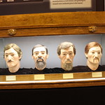 North Charleston: Warren Lasch Conservation Center - Hunley crew facial reconstructions