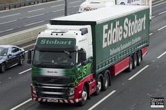 Volvo FH 6x2 Tractor - PX10 DFN - Beatrix Ella - Eddie Stobart - M1 J10 Luton - Steven Gray - IMG_8628