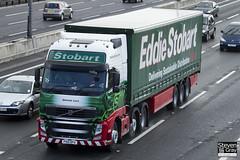 Volvo FH 6x2 Tractor - PX10 DFG - Gemma Lucy - Eddie Stobart - M1 J10 Luton - Steven Gray - IMG_8724