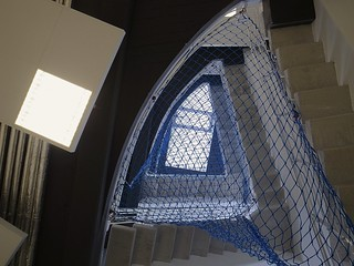 A stair well