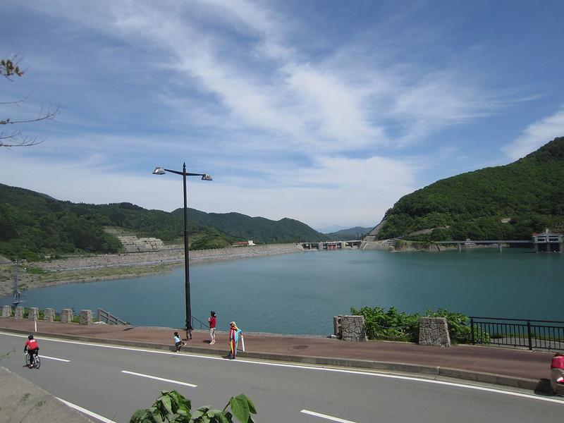ツールドさくらんぼ2013-月山湖