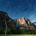 Moonlight and Startrails over Yosemite Valley by kh-photos ~ Kurt ~