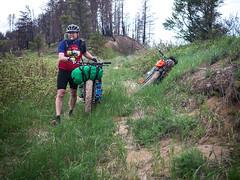 trail(0.0), freeride(0.0), downhill mountain biking(0.0), ridge(0.0), mountain bike(1.0), soil(1.0), vehicle(1.0), mountain bike racing(1.0), race(1.0), cycle sport(1.0), adventure racing(1.0), extreme sport(1.0), cycling(1.0), mountain biking(1.0), bicycle(1.0),