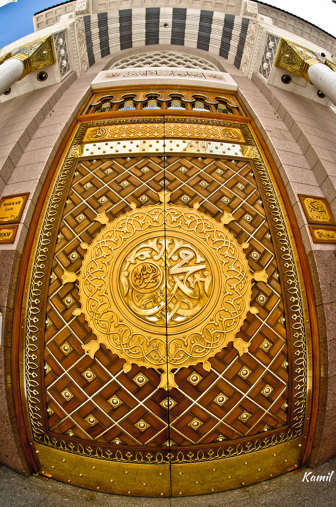 Door of Masjid un Nabawi & K.a.m.i.l.u0027s most recent Flickr photos | Picssr