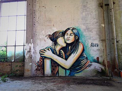 Alice Pasquini - Rome (IT) by AliCè
