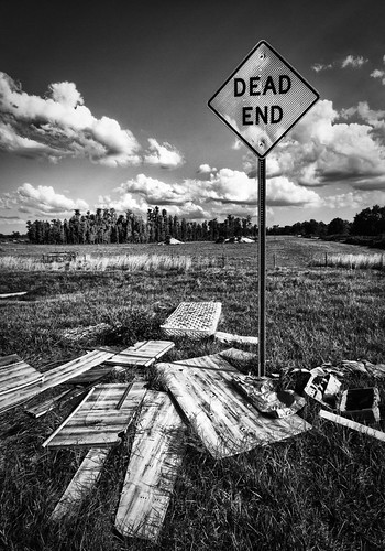 blackandwhite sign america mono florida decay urbandecay fl isolated deadend lutz sigma1020mm canon60d landscapesshotinportraitformat