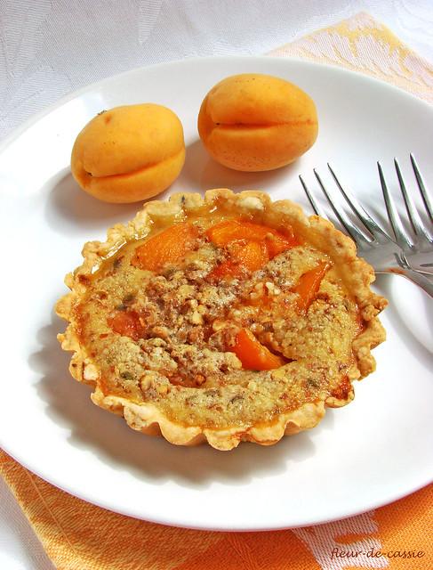 тартифлет с абрикосами 1
