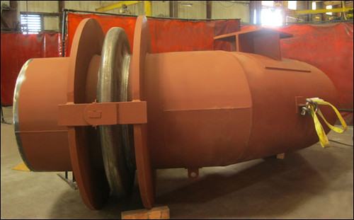 "62"" Fabric, 42"" Hinged and 42"" Tied Universal Expansion Joints and Duct Work Designed for an Acid Plant"