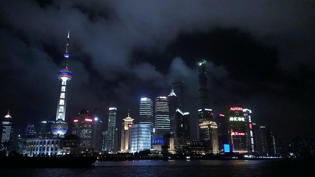 上海浦東夜景