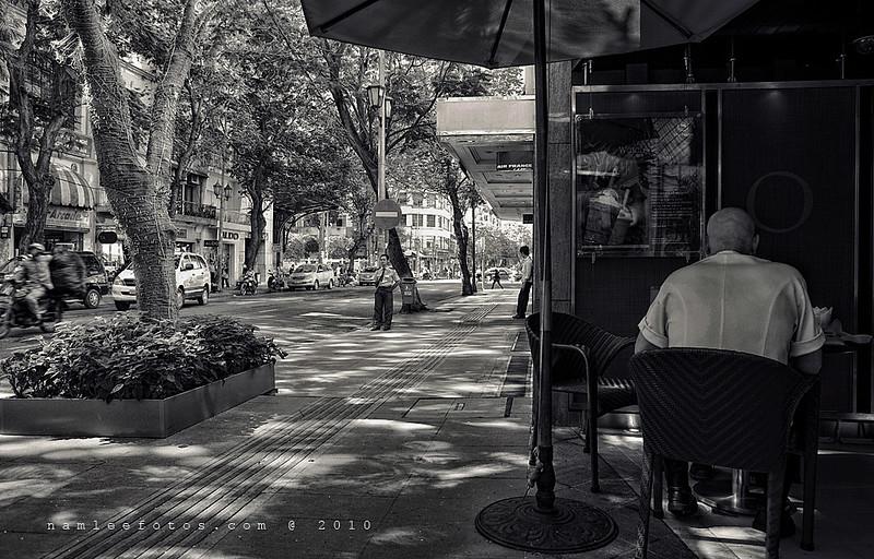 Một góc đường Đồng Khởi - Sài Gòn