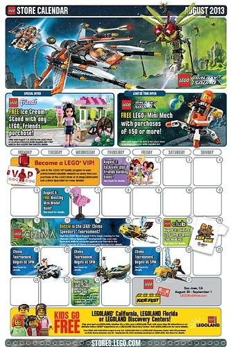 LEGO August Calendar